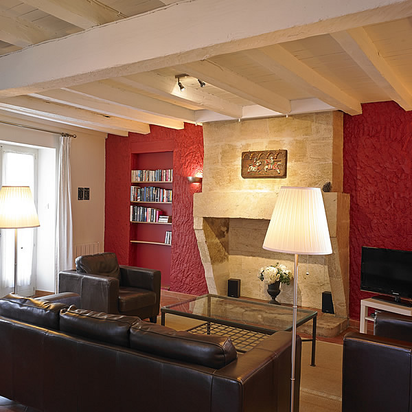 "Cottage ""Pomerol"" (4-pers) the sitting room"