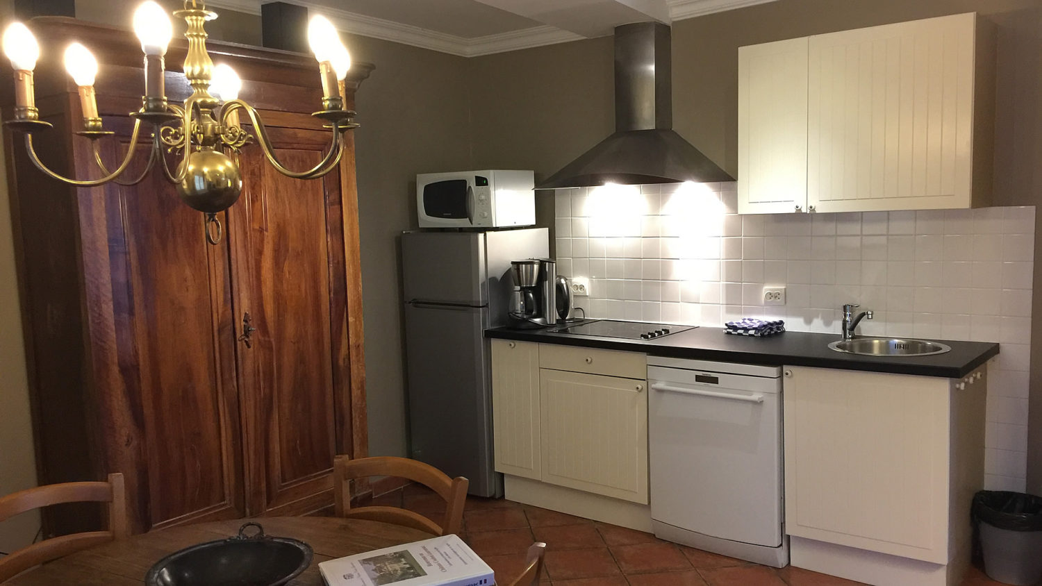 """Cottage """"Sauternes"""" (4 pers) Kitchen with dishwasher etc."""