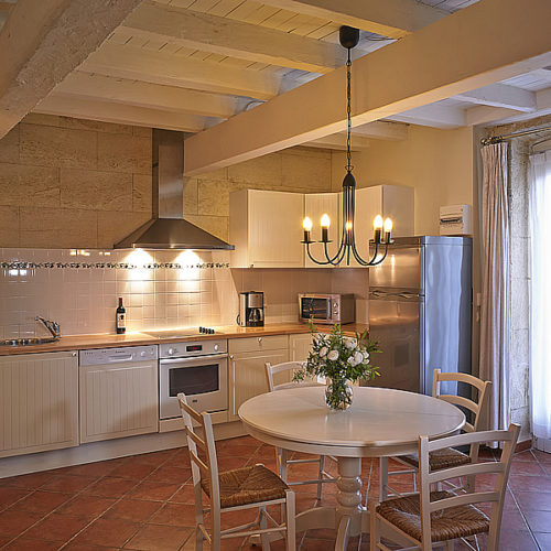 "Cottage ""Pomerol"" (4 pers) Kitchen with dishwasher etc."